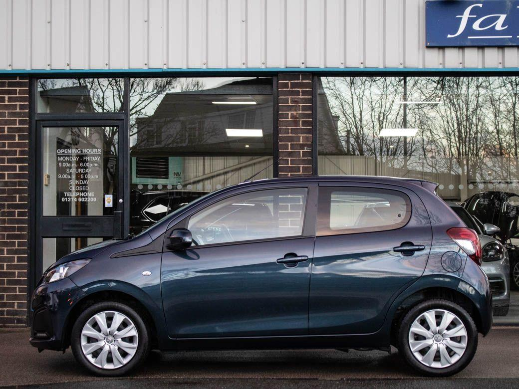 Peugeot 108 1.0 Active 5 door 2-Tronic Auto Hatchback Petrol Tahoe Blue Metallic