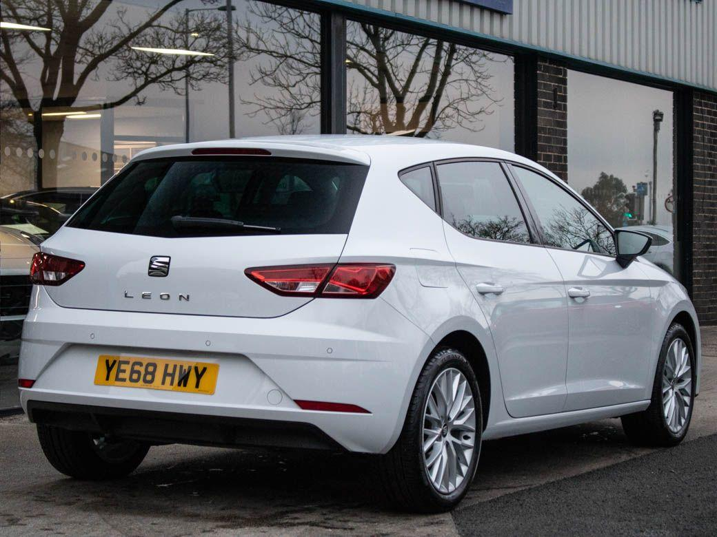 Seat Leon 1.0 TSI SE Dynamic 115ps Hatchback Petrol White