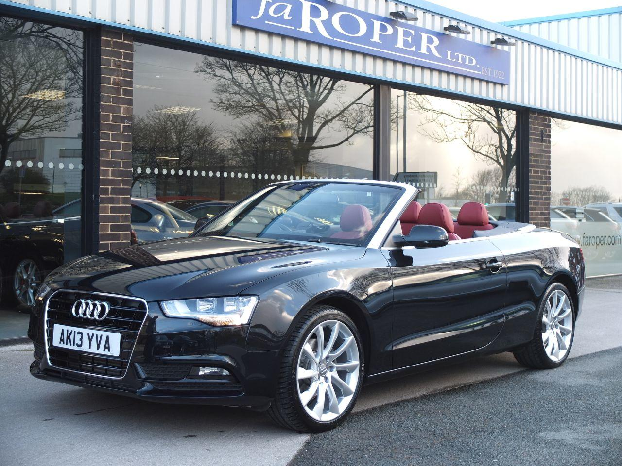 Audi A5 Cabriolet 1.8 TFSI SE Multitronic 170 ps +++Spec Convertible Petrol Phantom Black PearlAudi A5 Cabriolet 1.8 TFSI SE Multitronic 170 ps +++Spec Convertible Petrol Phantom Black Pearl at fa Roper Ltd Bradford