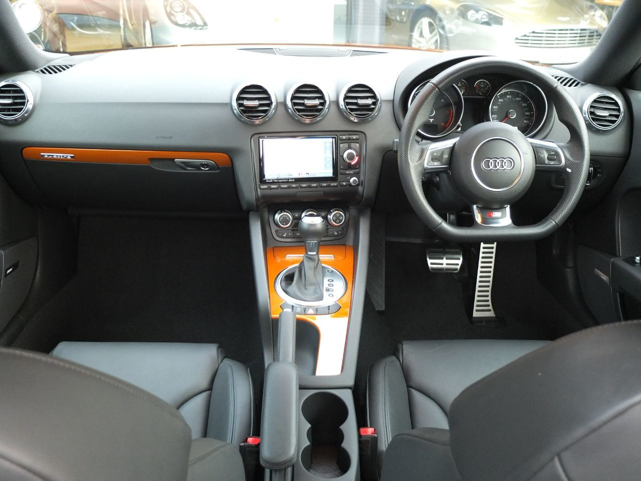 Audi TT 2.0 TDI Quattro Black Edition S Tronic (Amplified Edition +++ Spec) Coupe Diesel Samoa Orange Metallic
