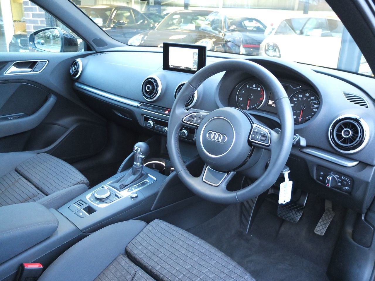 Audi A3 1.4 TFSI Sport 140 ps 3dr S Tronic Cylinder on Demand ++Spec Hatchback Petrol Brilliant Black