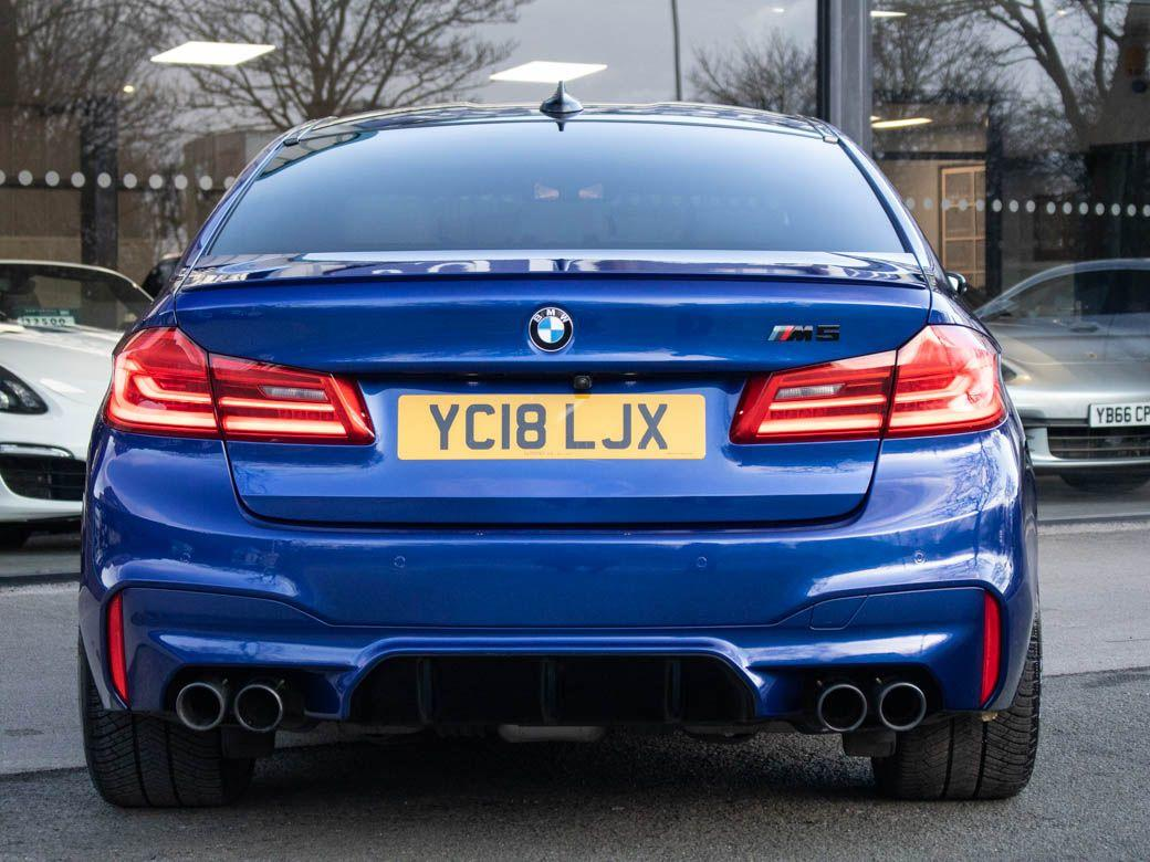 BMW M5 M5 4.4 V8 Auto 600ps Saloon Petrol Marina Bay Blue Metallic