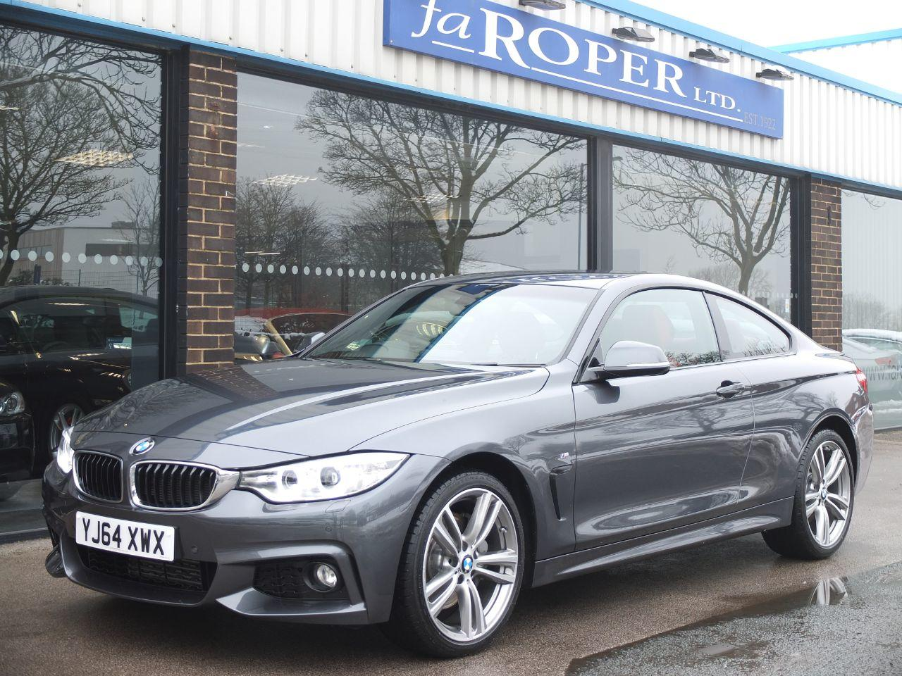 BMW 4 Series 3.0 435d xDrive M Sport Auto +++Spec Coupe Diesel Mineral Grey MetallicBMW 4 Series 3.0 435d xDrive M Sport Auto +++Spec Coupe Diesel Mineral Grey Metallic at fa Roper Ltd Bradford