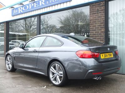 BMW 4 Series 3.0 435d xDrive M Sport Auto +++Spec Coupe Diesel Mineral Grey Metallic
