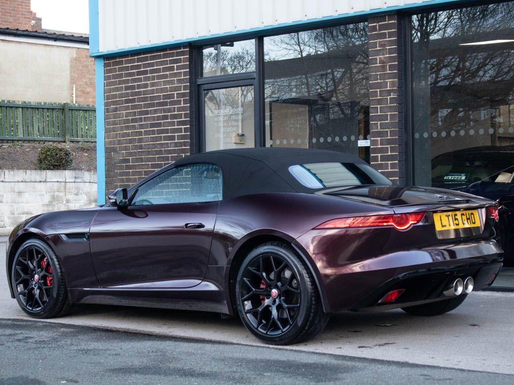 Jaguar F-type 3.0 Supercharged V6 S Auto 380ps Convertible Petrol Black Rose
