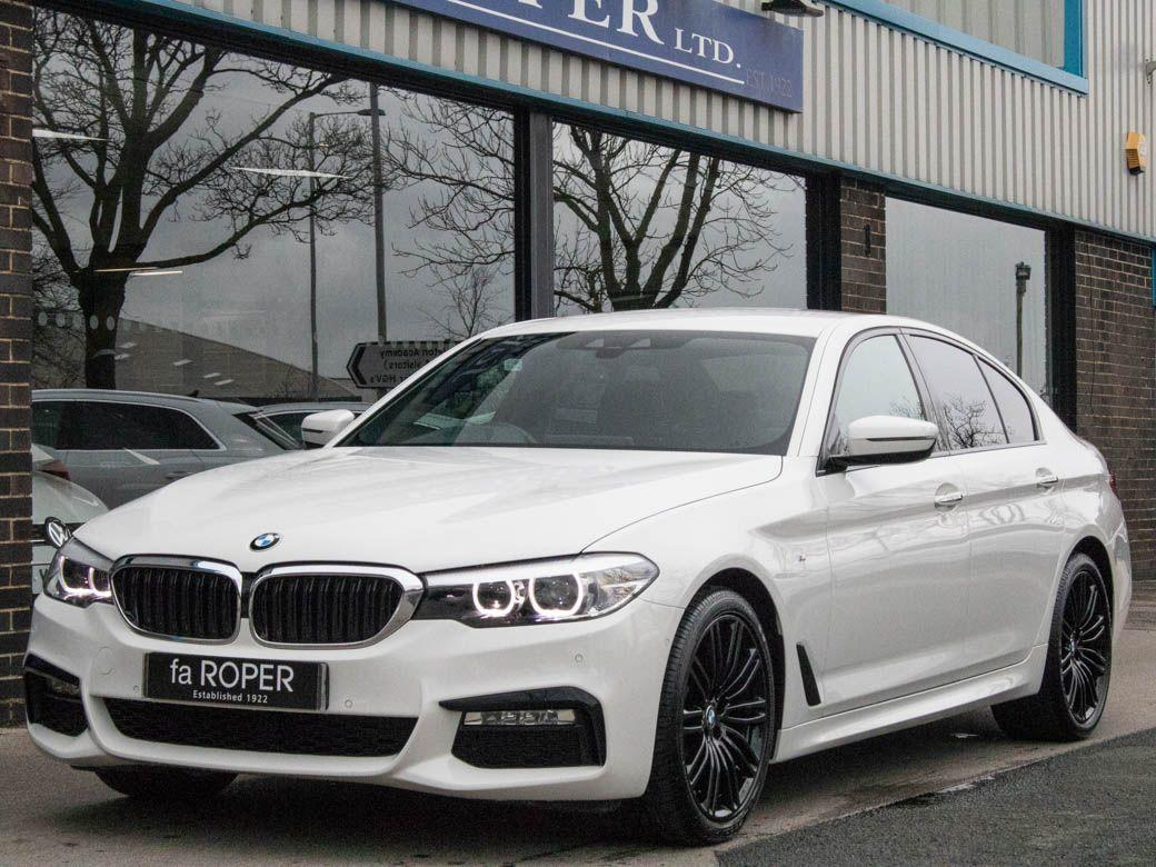 BMW 5 Series 2.0 520d xDrive M Sport Auto Saloon Diesel Alpine WhiteBMW 5 Series 2.0 520d xDrive M Sport Auto Saloon Diesel Alpine White at fa Roper Ltd Bradford