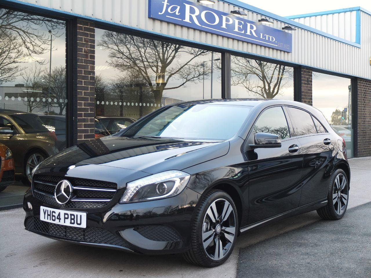 Mercedes-Benz A Class A200 [2.1] CDI Sport Auto. Night Package, Delivery Miles Hatchback Diesel Cosmos Black MetallicMercedes-Benz A Class A200 [2.1] CDI Sport Auto. Night Package, Delivery Miles Hatchback Diesel Cosmos Black Metallic at fa Roper Ltd Bradford