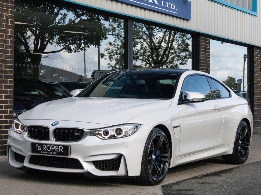 BMW M4 3.0 M4 Coupe DCT Coupe Petrol Mineral White MetallicBMW M4 3.0 M4 Coupe DCT Coupe Petrol Mineral White Metallic at fa Roper Ltd Bradford