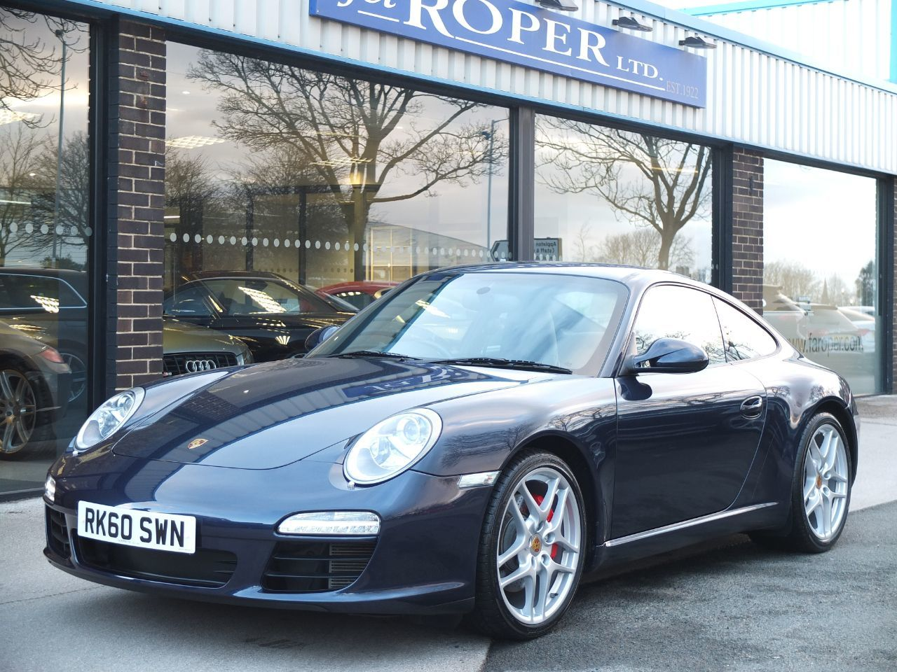 Porsche 911 997 Carrera 3.8 S Gen II +++Spc Coupe Petrol Dark Blue MetallicPorsche 911 997 Carrera 3.8 S Gen II +++Spc Coupe Petrol Dark Blue Metallic at fa Roper Ltd Bradford