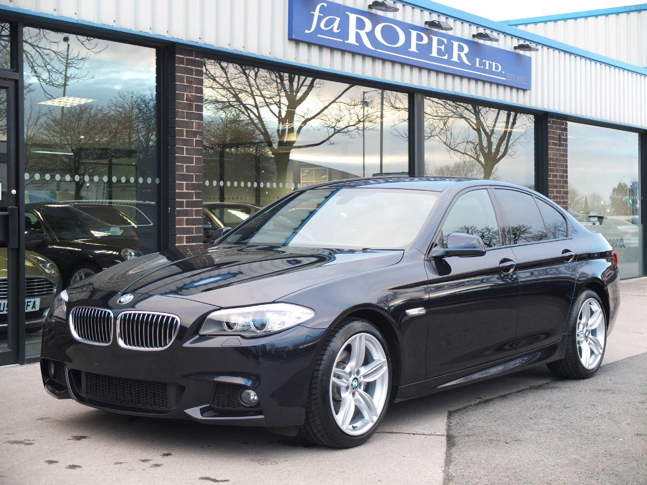 BMW 5 Series 2.0 520d M Sport Auto [Start Stop] Business Media ++Spec Saloon Diesel Carbon Black MetallicBMW 5 Series 2.0 520d M Sport Auto [Start Stop] Business Media ++Spec Saloon Diesel Carbon Black Metallic at fa Roper Ltd Bradford