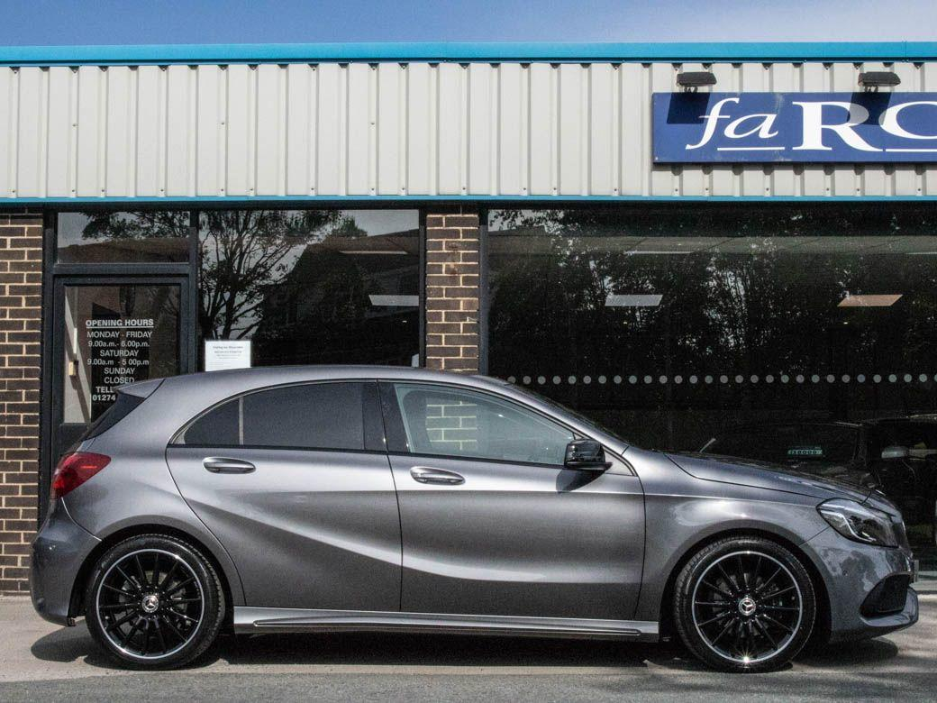 Mercedes-Benz A Class 1.6 A180 AMG Line Premium Auto Hatchback Petrol Mountain Grey Metallic