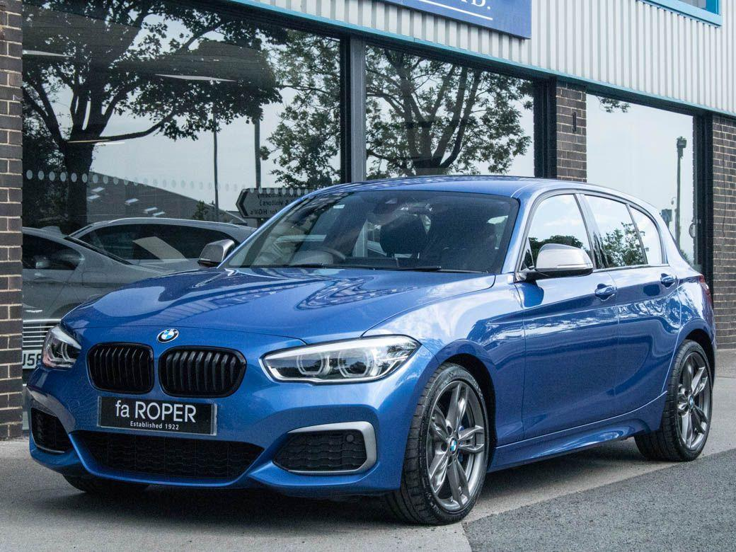 BMW 1 Series M140i 3.0 5 door Auto Hatchback Petrol Estoril Blue MetallicBMW 1 Series M140i 3.0 5 door Auto Hatchback Petrol Estoril Blue Metallic at fa Roper Ltd Bradford