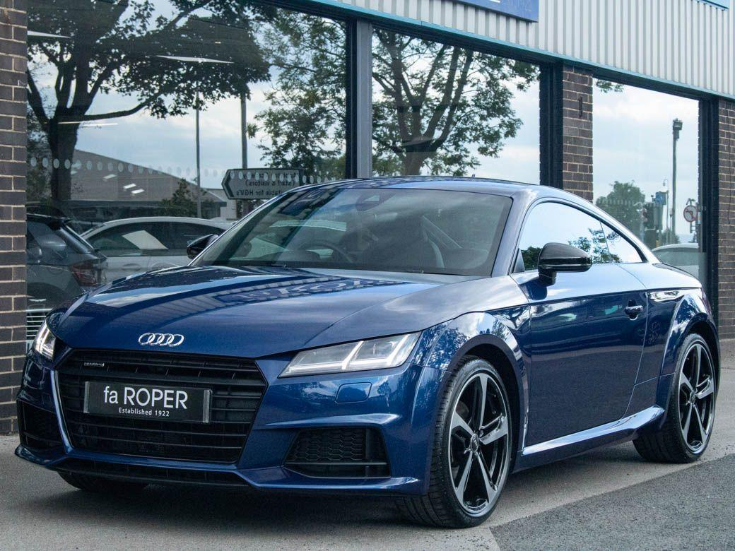 Audi TT Coupe 2.0T FSI quattro Black Edition S tronic Coupe Petrol Scuba Blue MetallicAudi TT Coupe 2.0T FSI quattro Black Edition S tronic Coupe Petrol Scuba Blue Metallic at fa Roper Ltd Bradford
