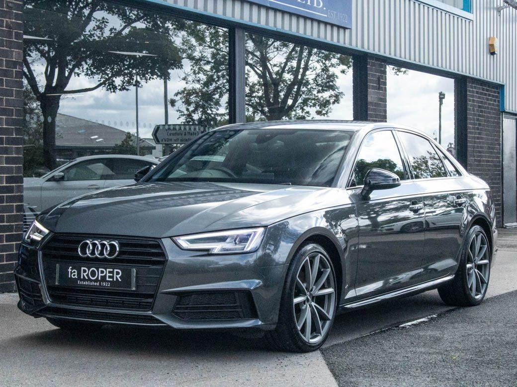 Audi A4 2.0T FSI Black Edition S tronic Saloon Petrol Daytona Grey MetallicAudi A4 2.0T FSI Black Edition S tronic Saloon Petrol Daytona Grey Metallic at fa Roper Ltd Bradford