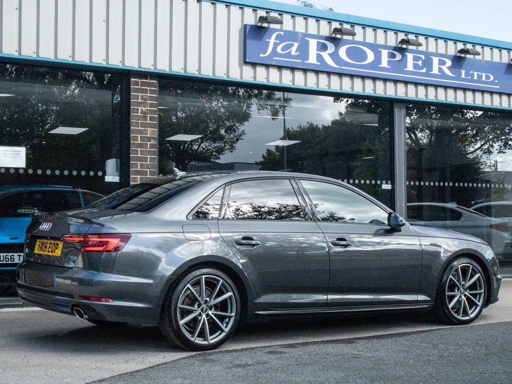 Audi A4 2.0T FSI Black Edition S tronic Saloon Petrol Daytona Grey Metallic