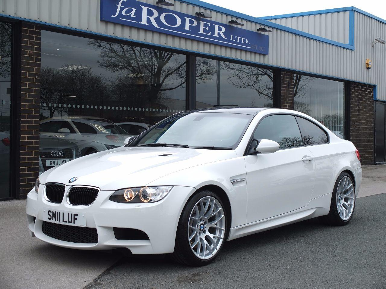 BMW M3 M3 4.0 V8 Coupe Competition Pack Coupe Petrol Alpine WhiteBMW M3 M3 4.0 V8 Coupe Competition Pack Coupe Petrol Alpine White at fa Roper Ltd Bradford