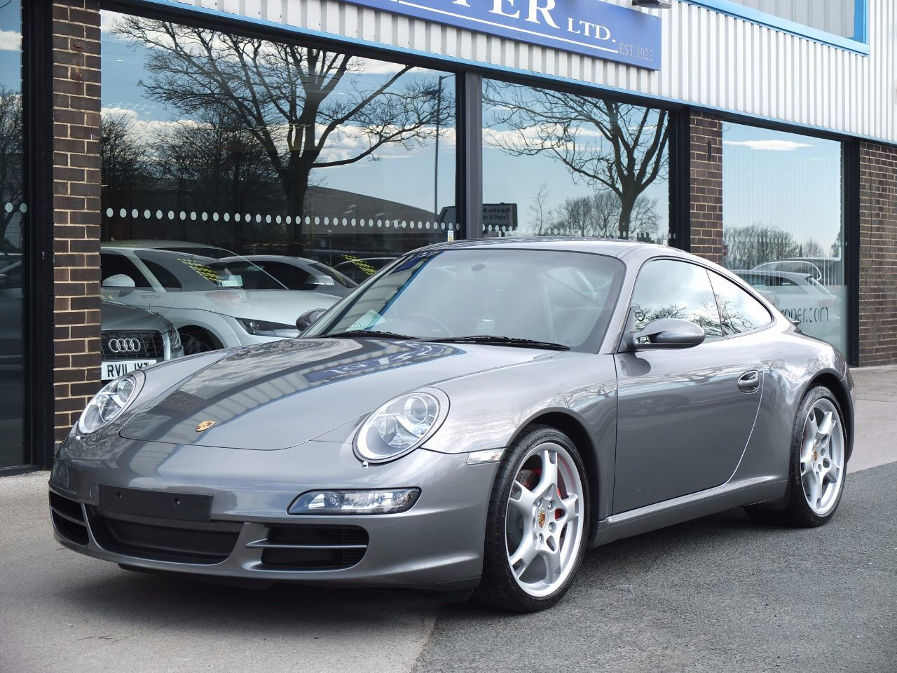 Porsche 911 997 Carrera 3.8 S Coupe C2S Coupe Petrol Seal Grey MetallicPorsche 911 997 Carrera 3.8 S Coupe C2S Coupe Petrol Seal Grey Metallic at fa Roper Ltd Bradford