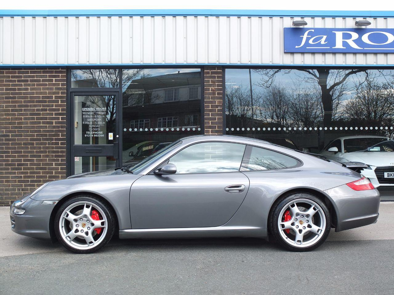 Porsche 911 997 Carrera 3.8 S Coupe C2S Coupe Petrol Seal Grey Metallic