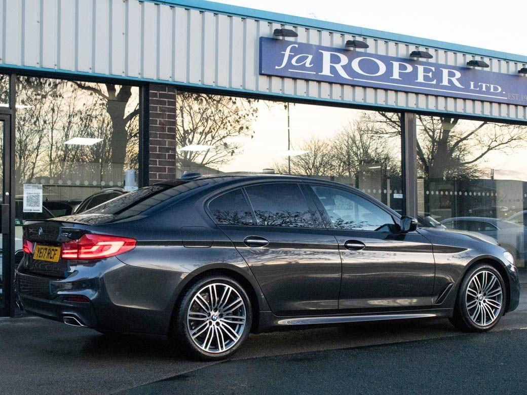 BMW 5 Series 2.0 520d xDrive M Sport Plus Auto Saloon Diesel Sophisto Grey Metallic