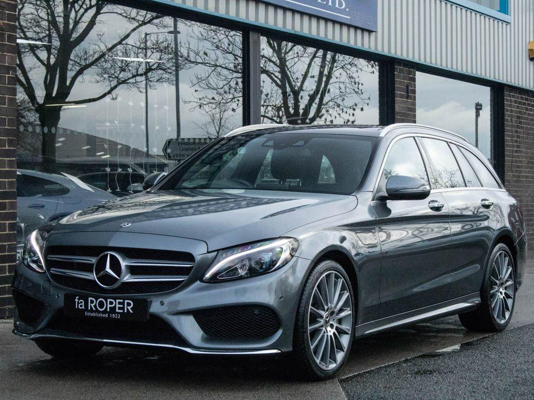 Mercedes-Benz C Class 2.0 C350e AMG Line Premium Estate Auto Estate Petrol / Electric Hybrid Selenite Grey MetallicMercedes-Benz C Class 2.0 C350e AMG Line Premium Estate Auto Estate Petrol / Electric Hybrid Selenite Grey Metallic at fa Roper Ltd Bradford