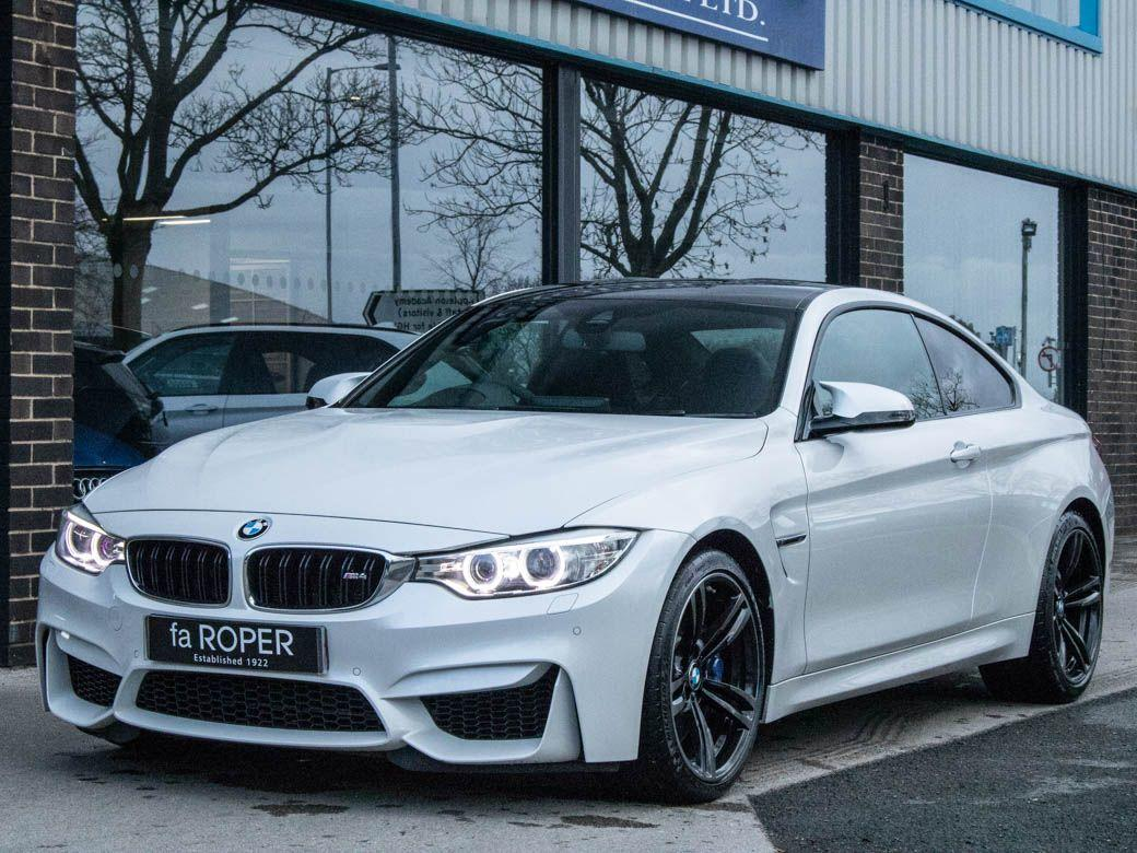 BMW M4 M4 3.0 Coupe DCT Coupe Petrol Mineral White MetallicBMW M4 M4 3.0 Coupe DCT Coupe Petrol Mineral White Metallic at fa Roper Ltd Bradford