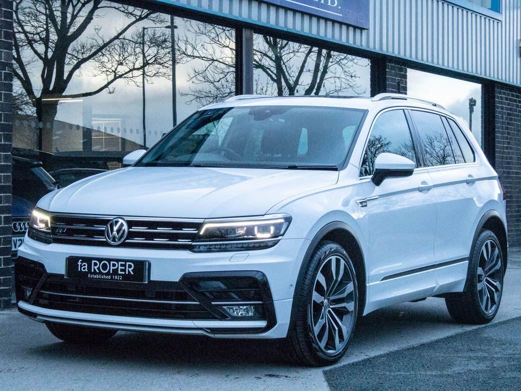Volkswagen Tiguan 2.0 TDI 4MOTION R-Line DSG Auto 150ps Estate Diesel Pure WhiteVolkswagen Tiguan 2.0 TDI 4MOTION R-Line DSG Auto 150ps Estate Diesel Pure White at fa Roper Ltd Bradford