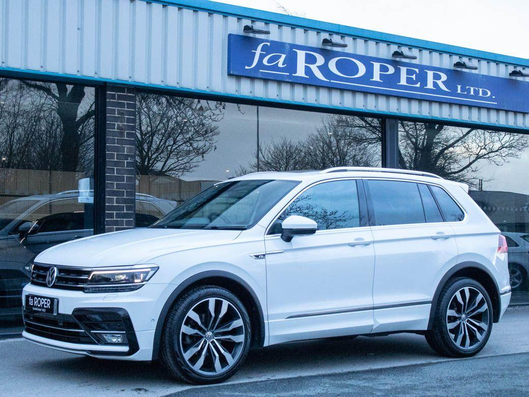 Volkswagen Tiguan 2.0 TDI 4MOTION R-Line DSG Auto 150ps Estate Diesel Pure White