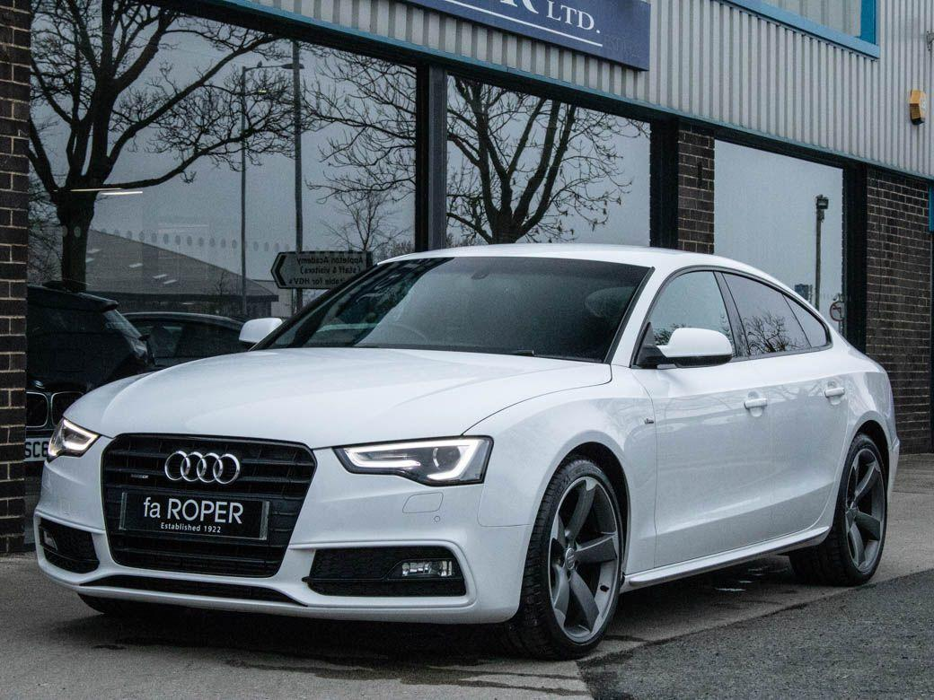Audi A5 Sportback 2.0 TDI quattro Black Edition S-tronic 177ps Hatchback Diesel White IbisAudi A5 Sportback 2.0 TDI quattro Black Edition S-tronic 177ps Hatchback Diesel White Ibis at fa Roper Ltd Bradford