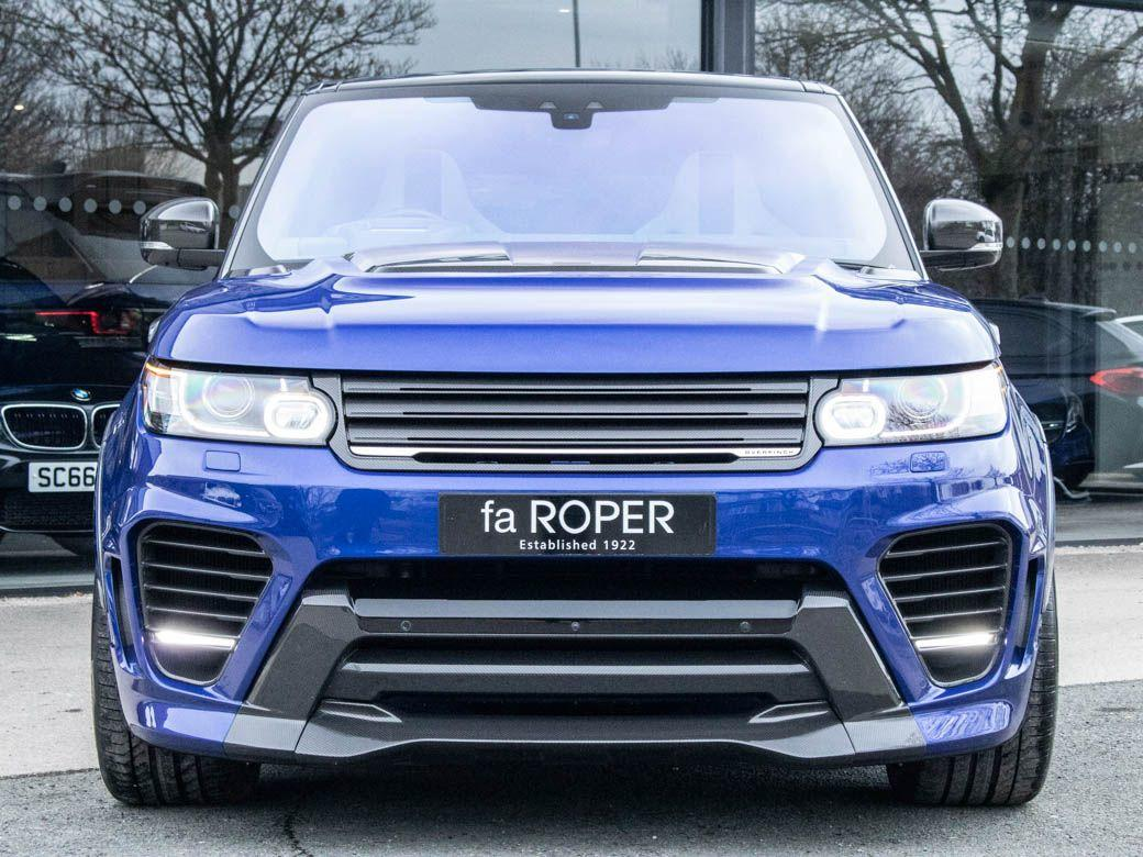 Land Rover Range Rover Sport Overfinch Supersport - 5.0 V8 Supercharged SVR Auto Estate Petrol Estoril Blue Metallic
