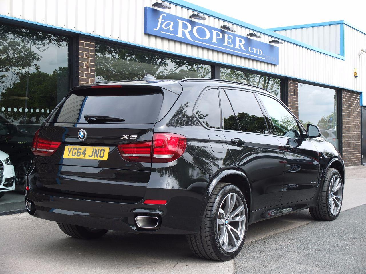 BMW X5 3.0 xDrive30d M Sport Auto 7 Seat, Pan Roof +++Spec Estate Diesel Black Sapphire Metallic