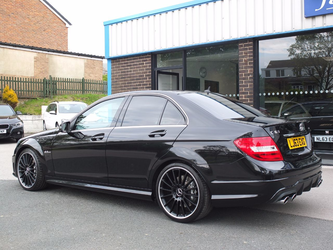 Mercedes-Benz C Class 6.2 C63 AMG MCT 7 Speed Auto Saloon Petrol Obsidian Black Metallic