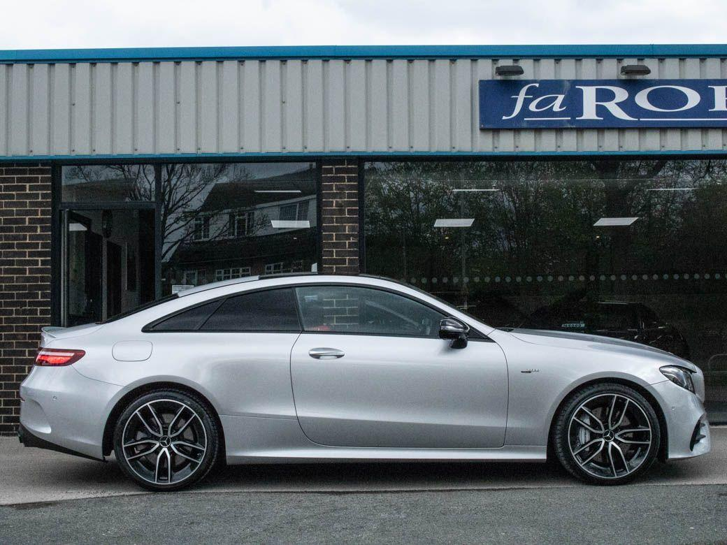 Mercedes-Benz E Class 3.0 E53 AMG Coupe EQ Boost Premium Plus 4MATIC+ Auto Coupe Petrol Iridium Silver Metallic