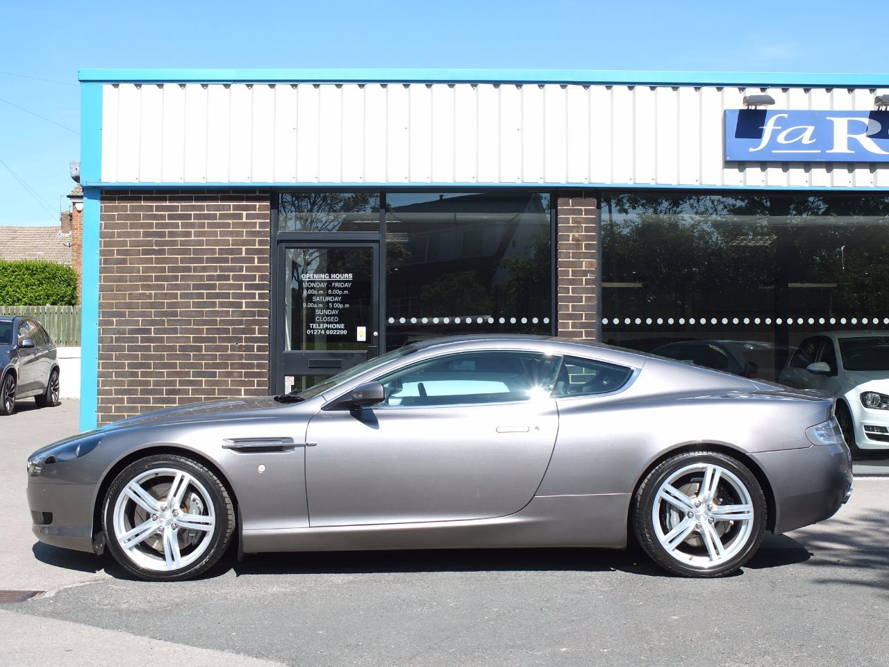 Aston Martin DB9 6.0 V12 Coupe 470 bhp Auto (Facelift) Sport Pack Coupe Petrol Silver