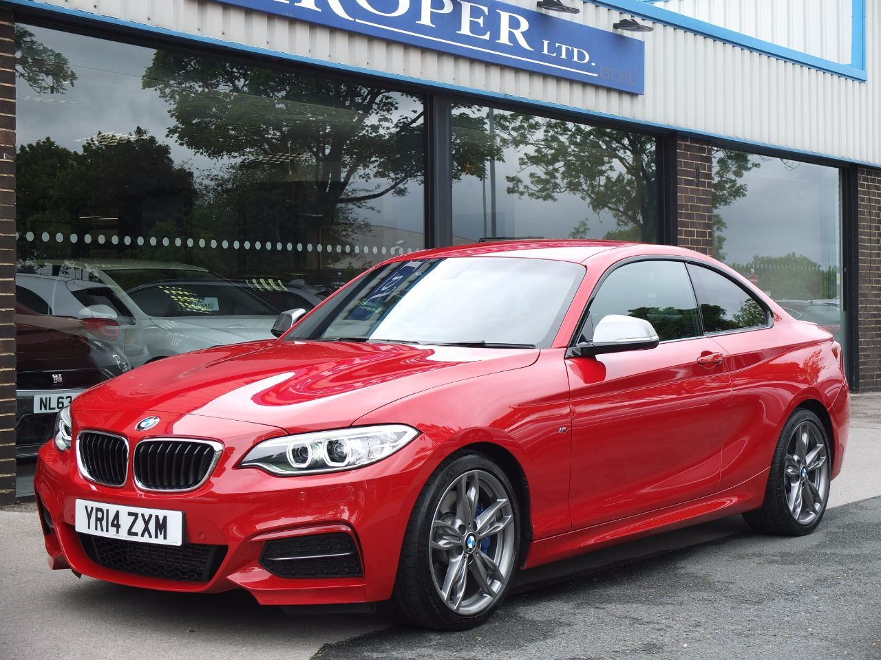 BMW 2 Series 3.0 M235i Step Auto ++++Spec Coupe Petrol Melbourne Red MetallicBMW 2 Series 3.0 M235i Step Auto ++++Spec Coupe Petrol Melbourne Red Metallic at fa Roper Ltd Bradford