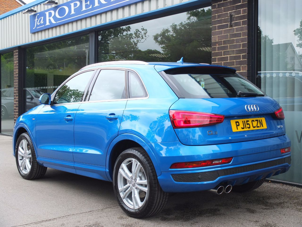 Audi Q3 1.4T FSI S Line Cylinder On Demand S Tronic ++Spec Estate Petrol Hainan Blue Metallic