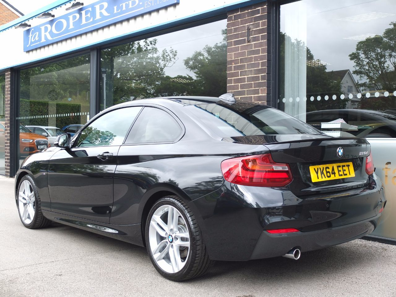 second hand bmw 2 series 220d m sport coupe auto pro media leather for sale in bradford. Black Bedroom Furniture Sets. Home Design Ideas