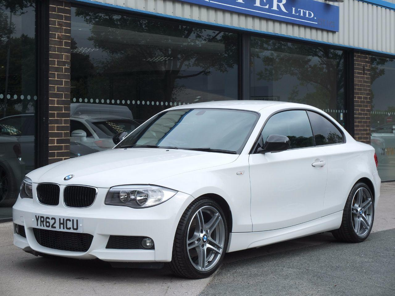 BMW 1 Series 2.0 118d Sport Plus Edition Coupe Coupe Diesel Alpine WhiteBMW 1 Series 2.0 118d Sport Plus Edition Coupe Coupe Diesel Alpine White at fa Roper Ltd Bradford