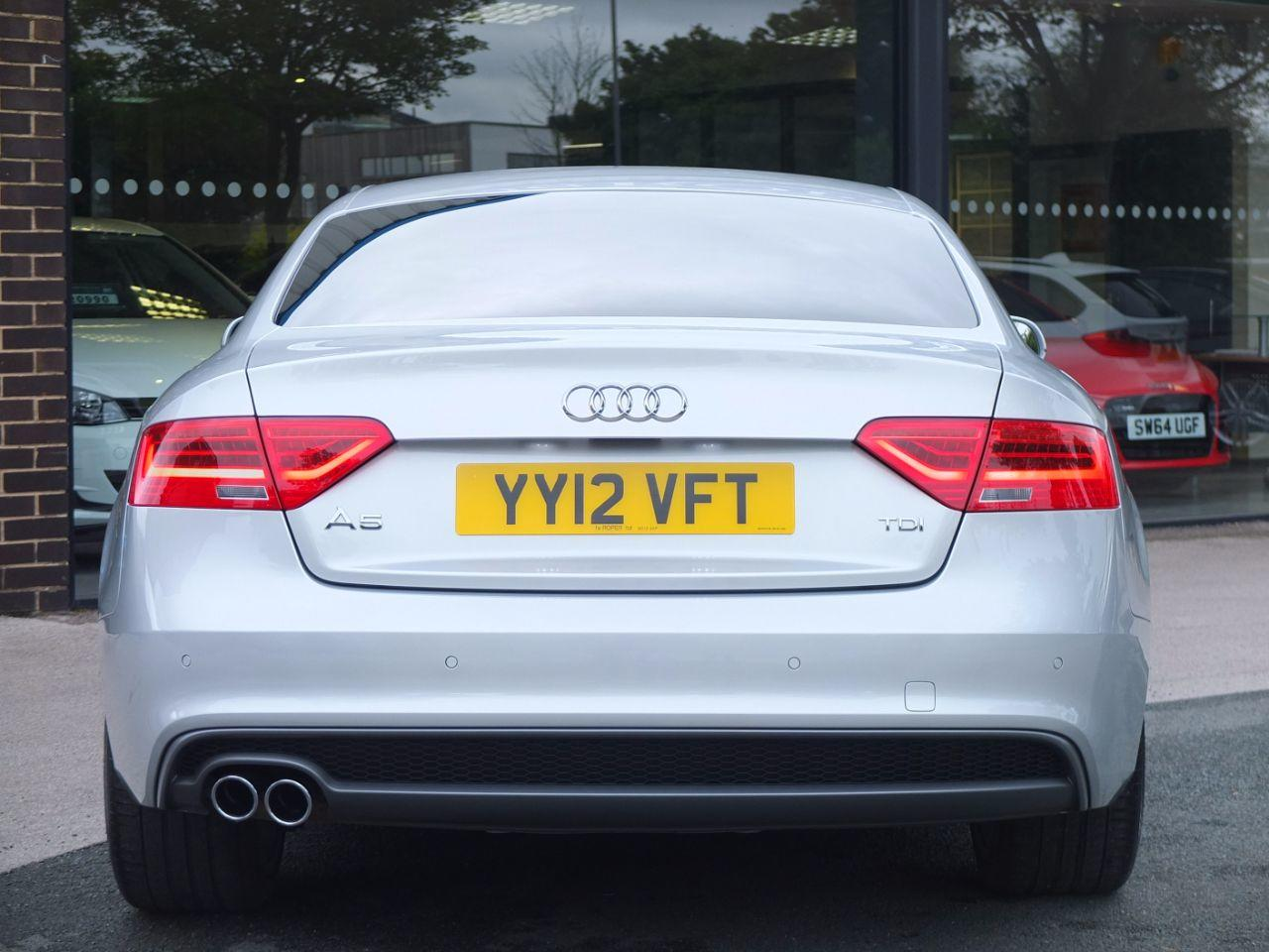Audi A5 Coupe 2.0 TDI 177ps Black Edition Coupe Diesel Ice Silver Metallic