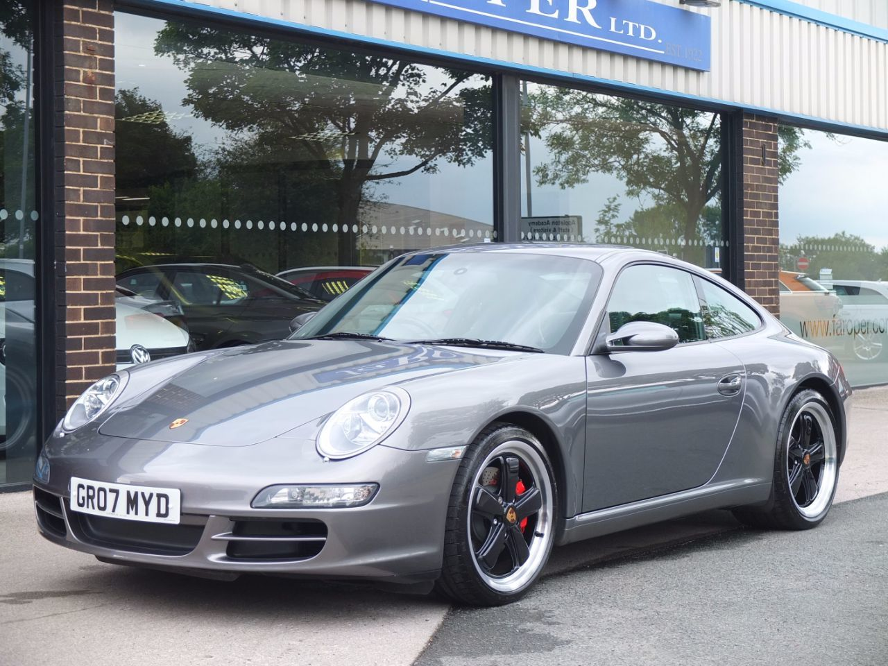Porsche 911 997 Carrera 3.8 S Coupe Petrol Meteor Grey MetallicPorsche 911 997 Carrera 3.8 S Coupe Petrol Meteor Grey Metallic at fa Roper Ltd Bradford