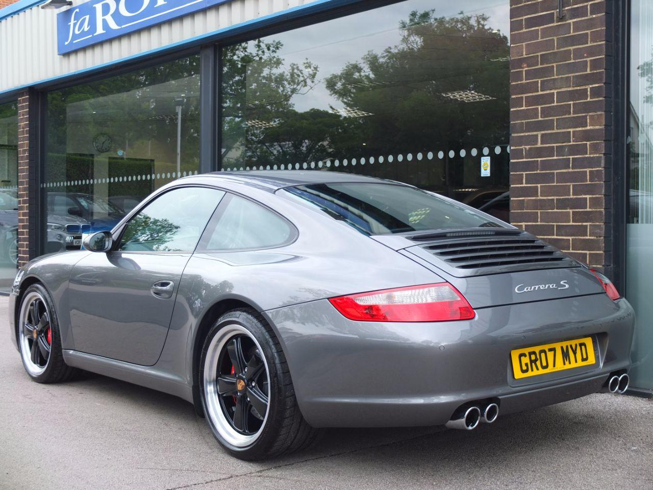 Porsche 911 997 Carrera 3.8 S Coupe Petrol Meteor Grey Metallic