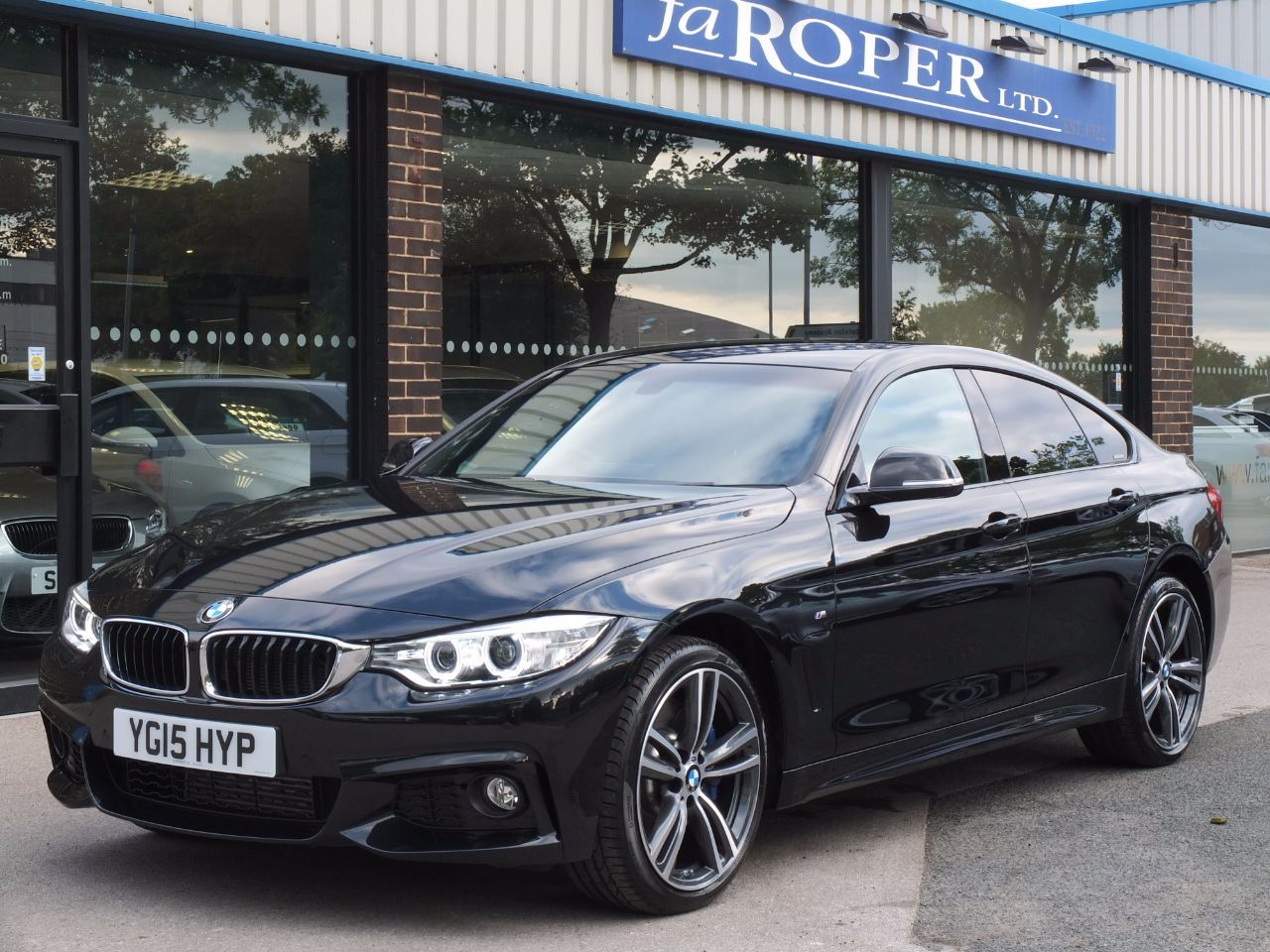 used bmw 4 series 435d xdrive m sport gran coupe auto. Black Bedroom Furniture Sets. Home Design Ideas