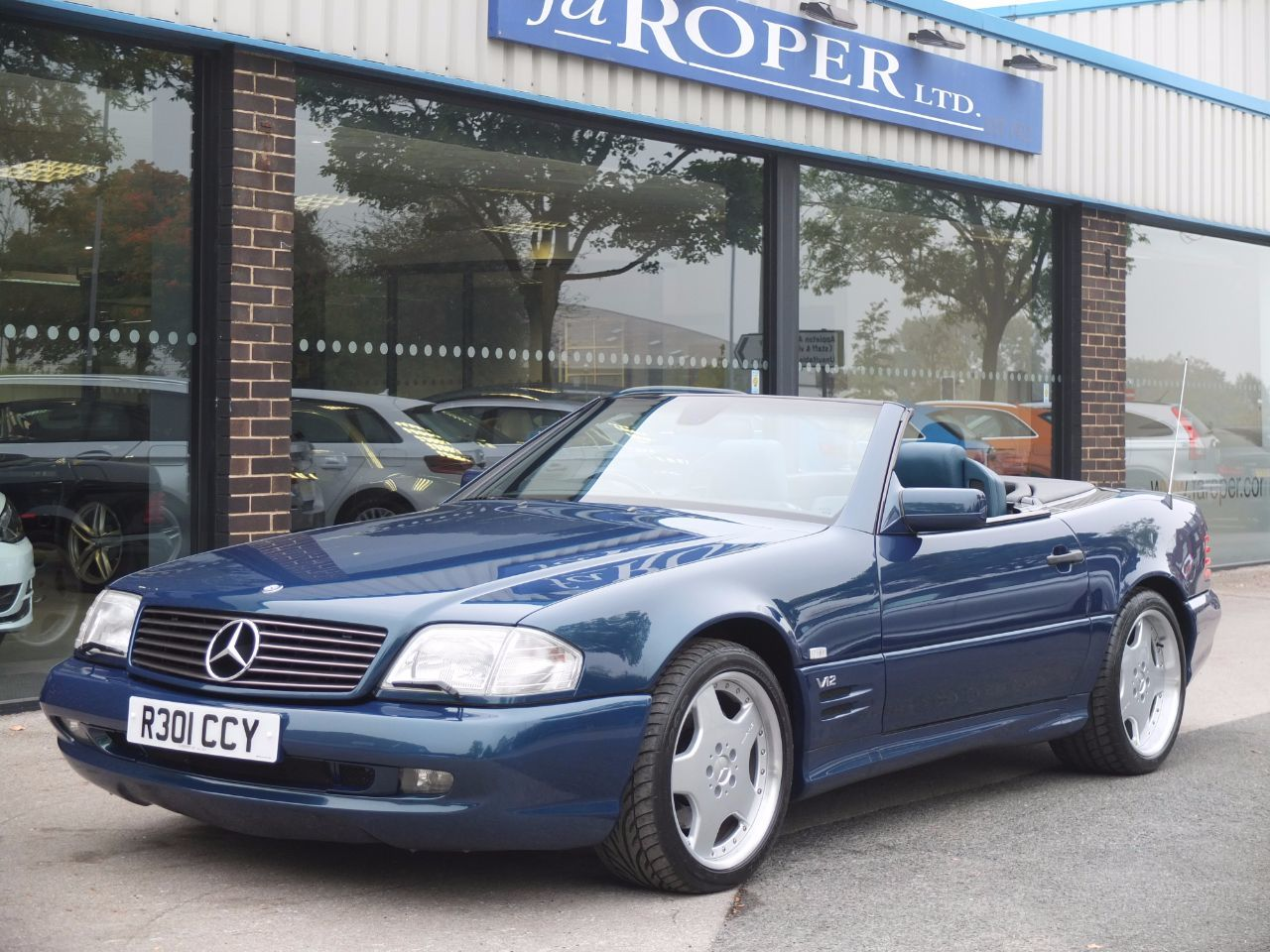 Used Cars Bradford Second Hand West Yorkshire Fa Roper Ltd Mercedes Benz Paint 600 60 Sl Auto Convertible Petrol Designo Vario Finishmercedes
