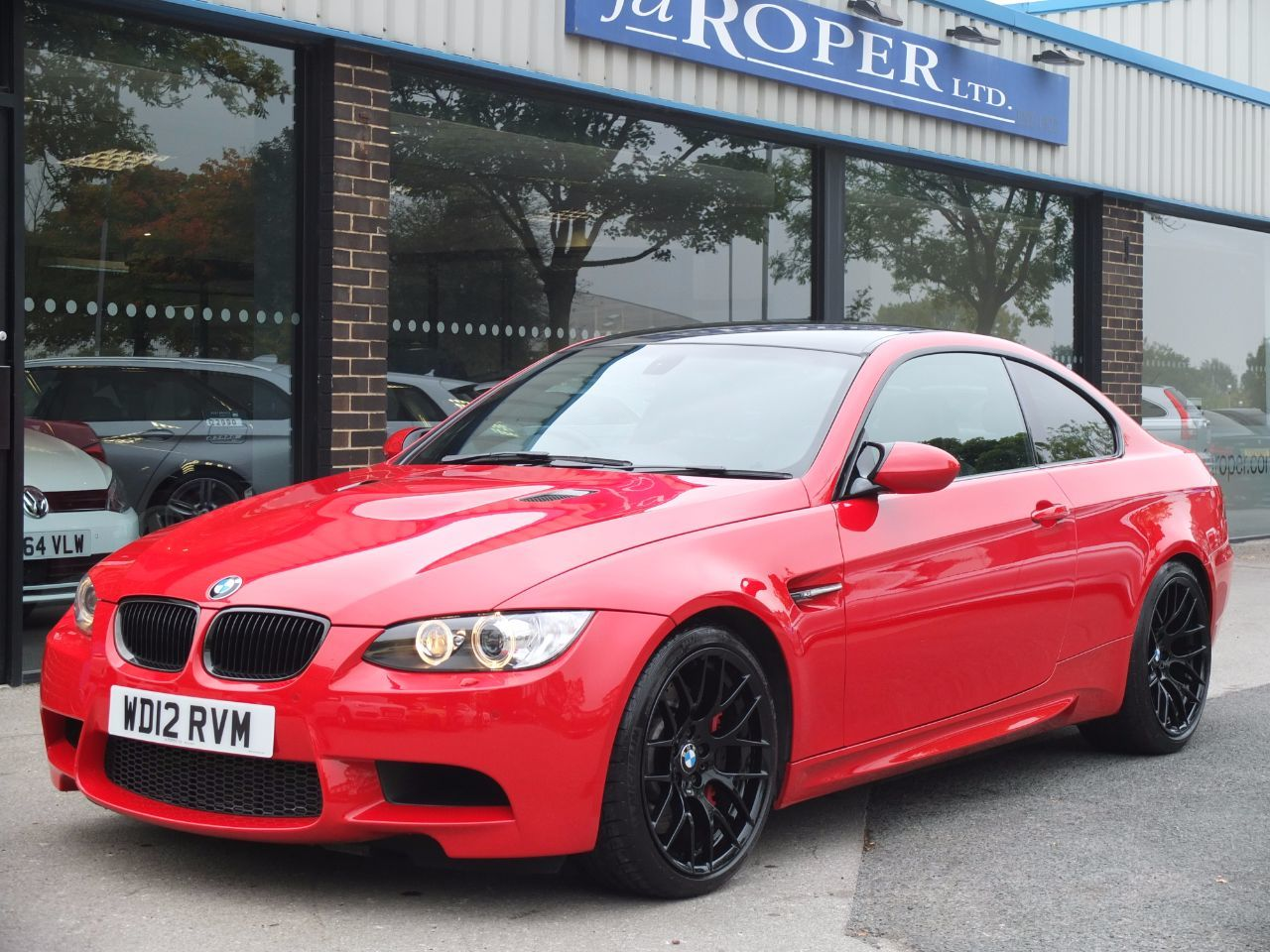BMW M3 M3 4.0 V8 Coupe DCT Competition Pack ++++Spec Coupe Petrol Electric Red Bmw Exclusive Paint FinishBMW M3 M3 4.0 V8 Coupe DCT Competition Pack ++++Spec Coupe Petrol Electric Red Bmw Exclusive Paint Finish at fa Roper Ltd Bradford