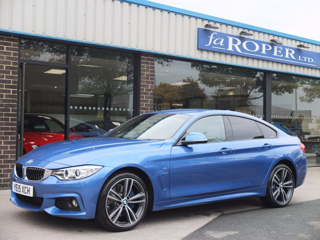 used bmw 4 series 420d xdrive m sport gran coupe auto m sport plus pack for sale in bradford. Black Bedroom Furniture Sets. Home Design Ideas
