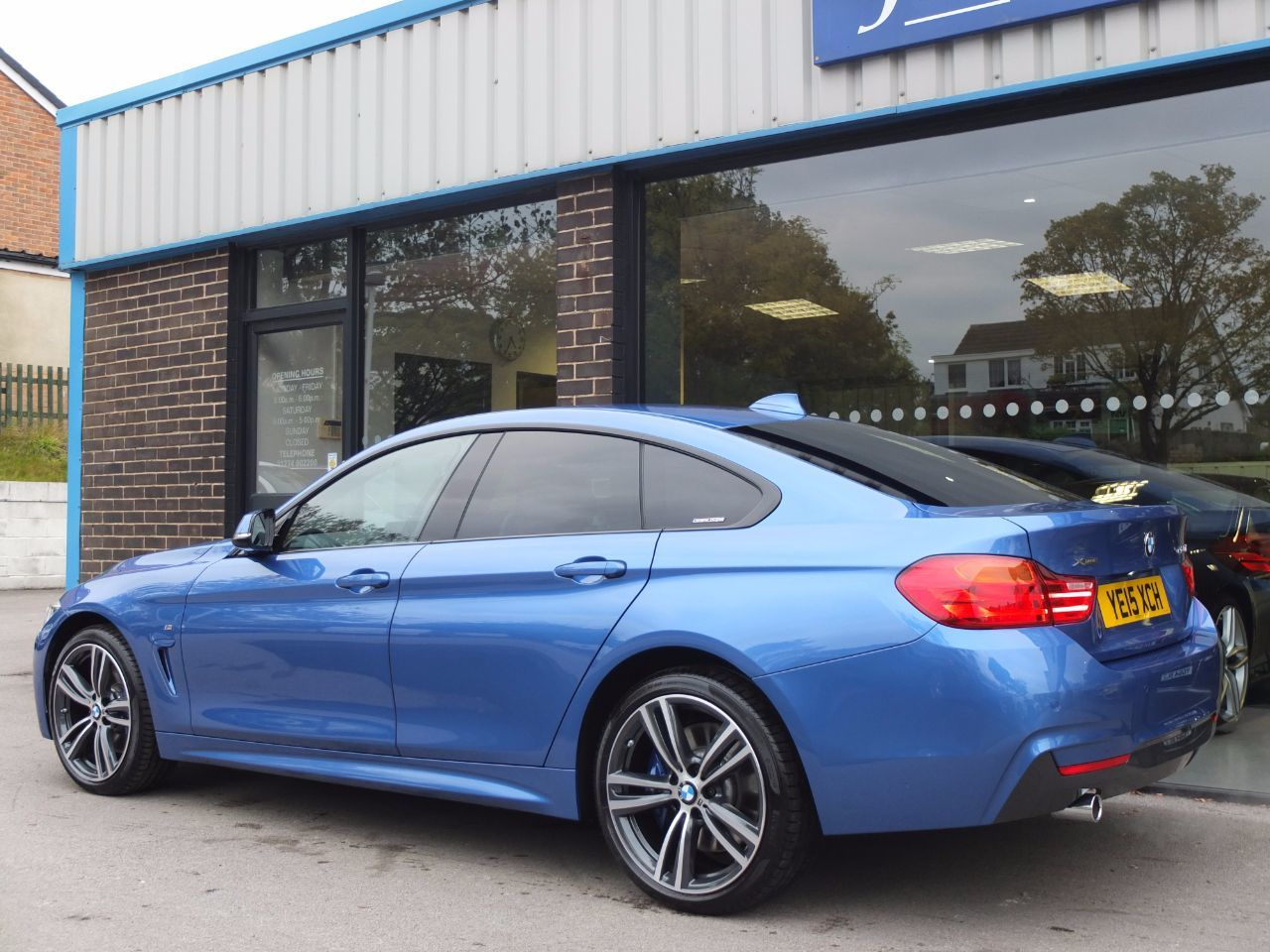 used bmw 4 series 420d xdrive m sport gran coupe auto m. Black Bedroom Furniture Sets. Home Design Ideas