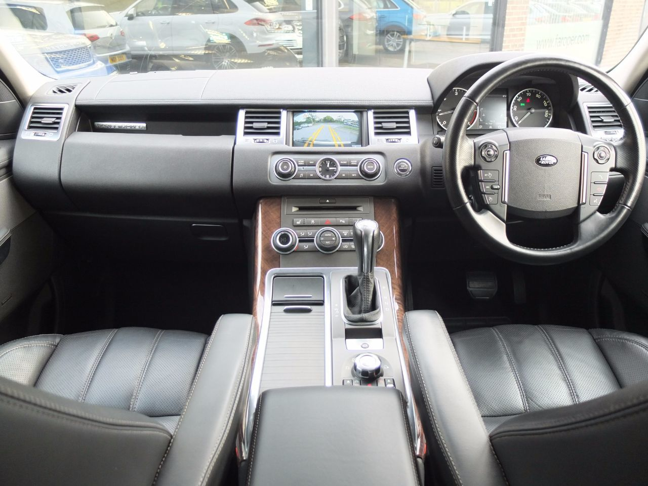 Land Rover Range Rover Sport 3.0 TDV6 HSE CommandShift (Autobiography Body Styling) Estate Diesel Alaska White