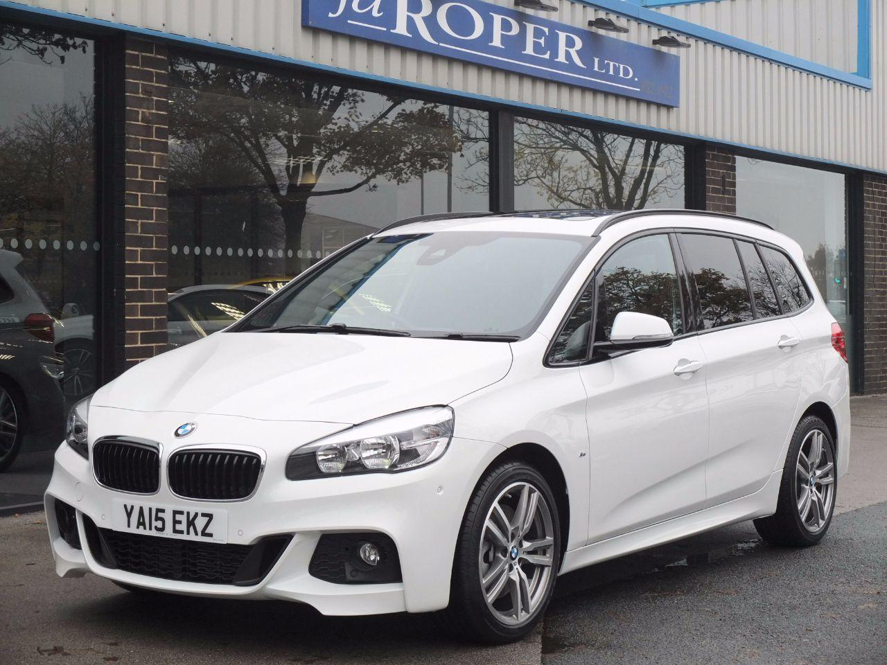 BMW 2 Series 2.0 Gran Tourer 220d xDrive M Sport Auto (7 Seats, Four Wheel Drive) Estate Diesel Alpine White