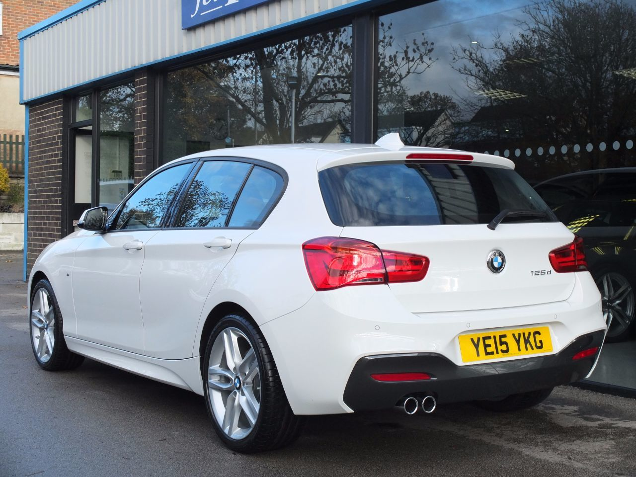 used bmw 1 series 125d m sport 5 door auto new model pro. Black Bedroom Furniture Sets. Home Design Ideas