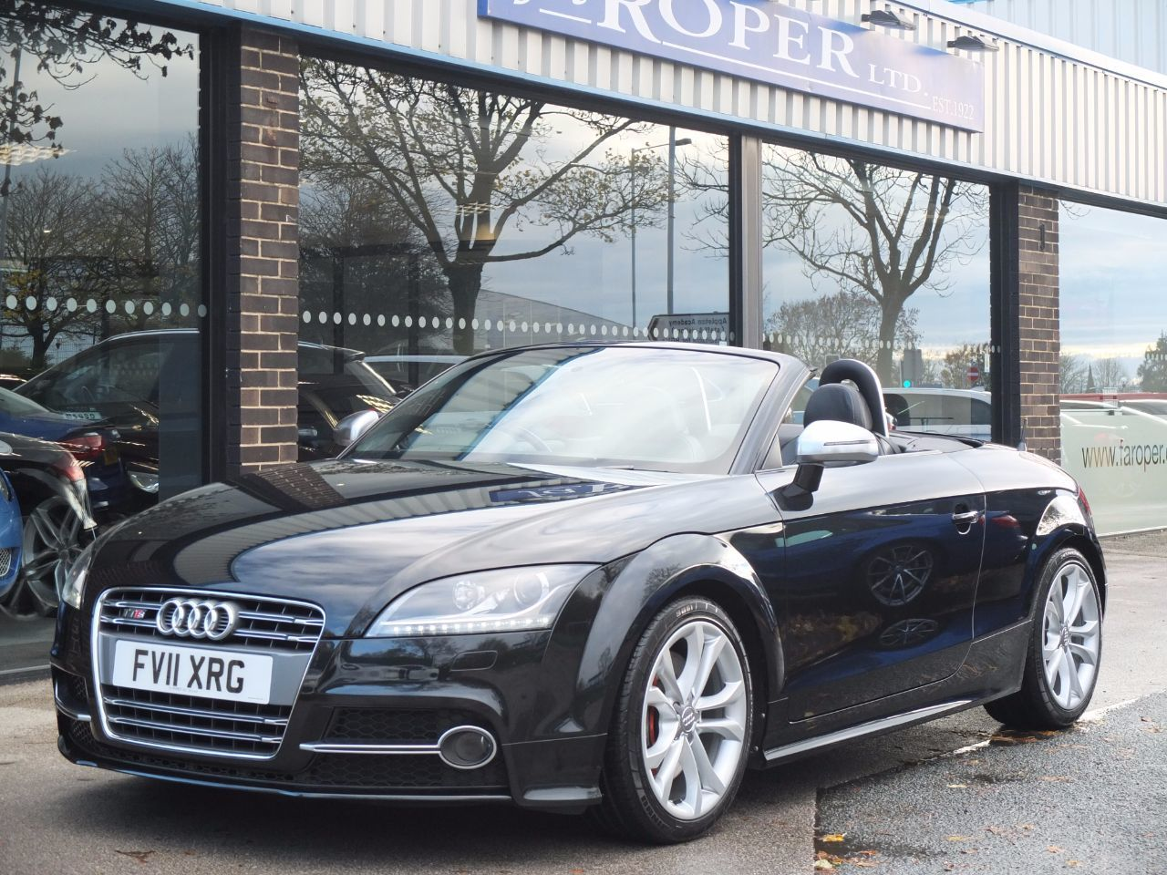 Audi TT TTS Roadster 2.0T FSI quattro S Tronic 272ps Convertible Petrol Phantom Black MetallicAudi TT TTS Roadster 2.0T FSI quattro S Tronic 272ps Convertible Petrol Phantom Black Metallic at fa Roper Ltd Bradford