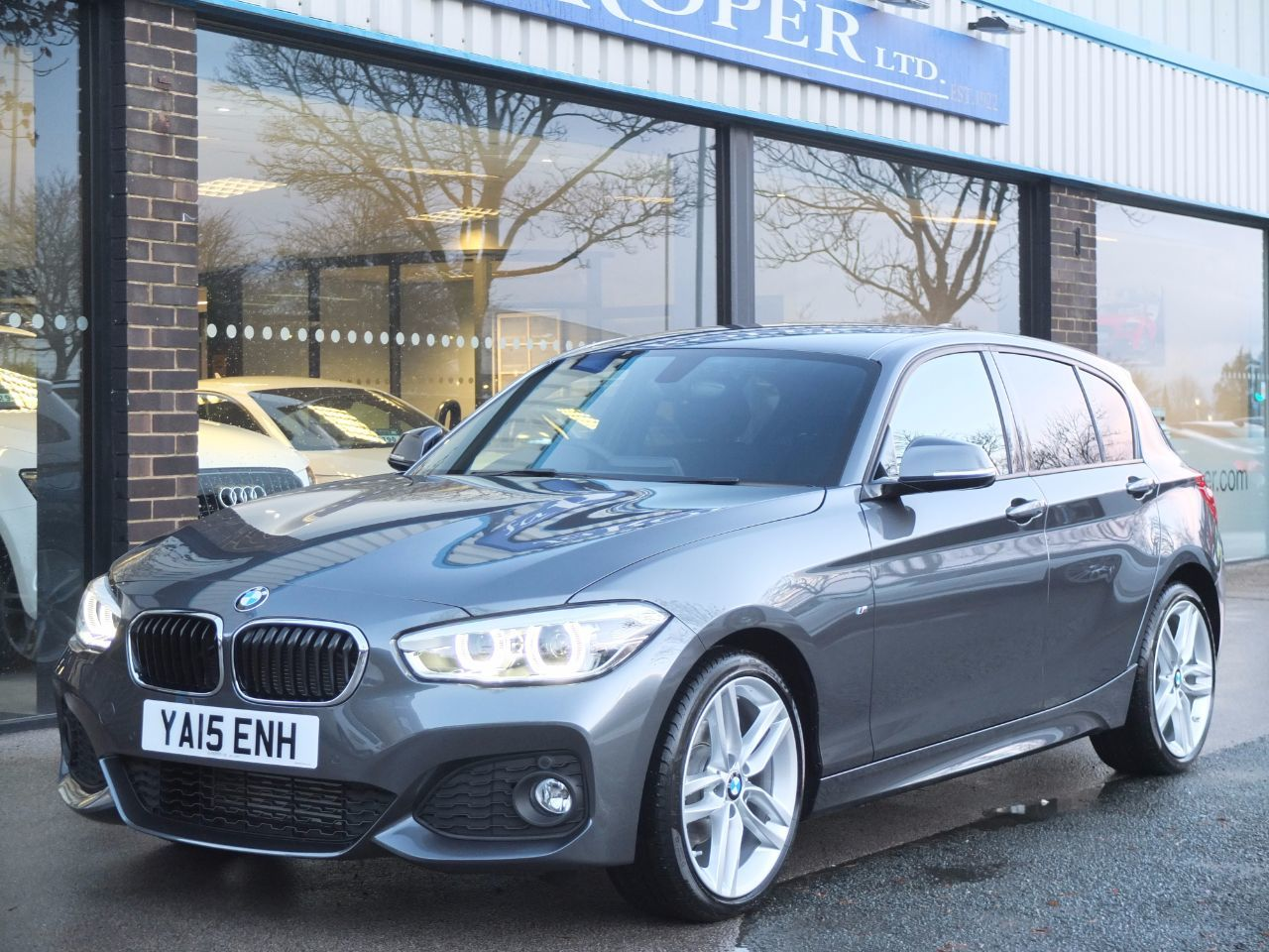 BMW 1 Series 1.5 116d M Sport 5dr Auto New Model (Navigation) Hatchback Diesel Mineral Grey MetallicBMW 1 Series 1.5 116d M Sport 5dr Auto New Model (Navigation) Hatchback Diesel Mineral Grey Metallic at fa Roper Ltd Bradford